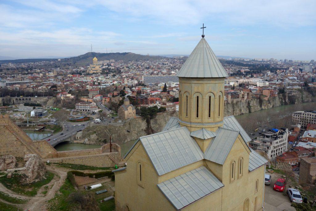 Tbilisi - tipy na prohlídku města