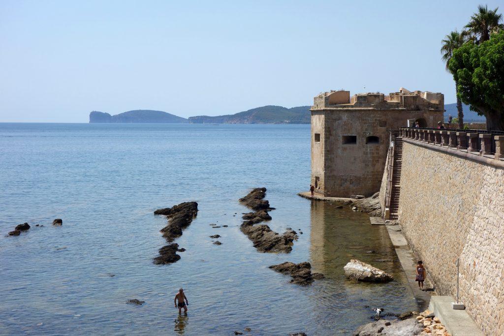 Alghero - výhled na Capo Caccia