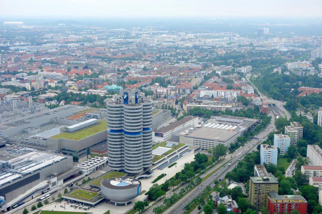 Výhled z Olympiaturm