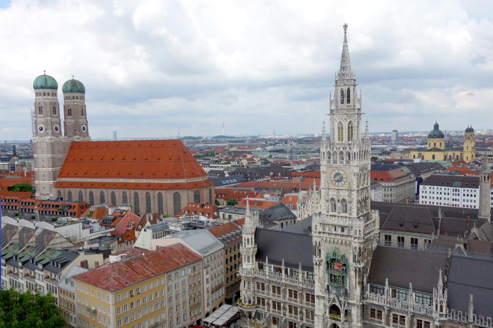 Výhled Mnichov