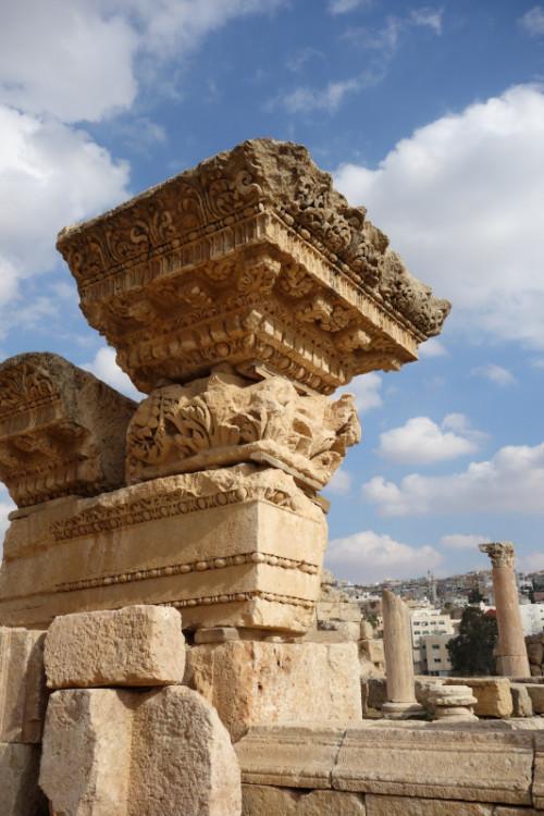 Trosky v Jerashi