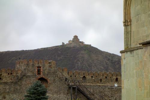 Klášter Jvari z katedrály Svetitskhoveli