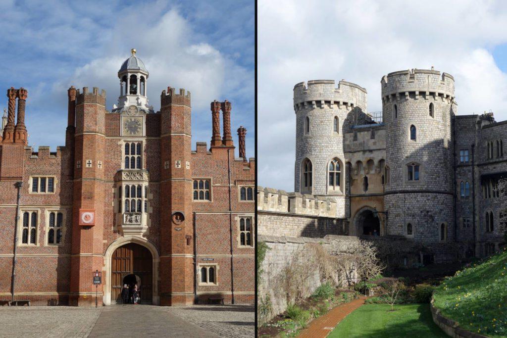 Hampton a Windsor - výlety z Londýna