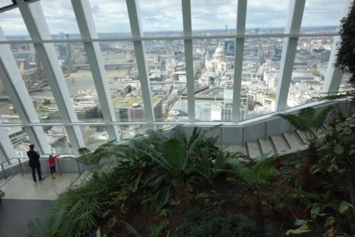 Londýn - Sky Garden