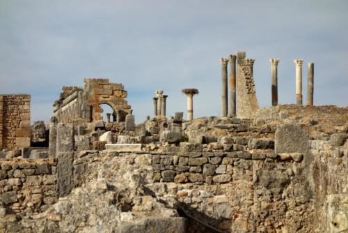 zbytky chrámů, Volubilis