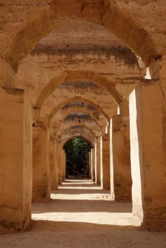 Meknes královské stáje