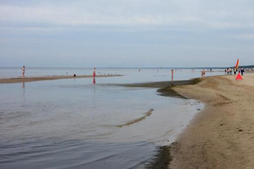 Jurmala pláž