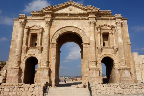 Vstupní brána do Jerashe