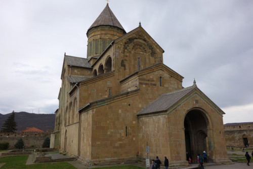 Mtskheta - katedrála Svetitskhoveli